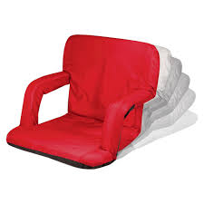 Picnic Time Ventura Portable Stadium Seats - Red (10.0 Lb ... Recling Stadium Seat Portable Strong Padded Hitorhike For Bleachers Or Benches Chair With Cushion Back And Armrest Support Pnic Time Oniva Navy Recreation Recliner Fayetteville Multiuse Adjustable Rio Bleacher Boss Pal Green Folding Armrests 7 Best Seats With Arms 2017 The 5 Ranked Product Reviews Sportneer Chairs 1 Pack Black Wide 6 Positions Carry Straps By Hecomplete Khomo Gear And Bench Soft Sided