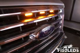 100 Ford Truck Grill 2015 2018 Raptor Style Extreme Amber LED Grill Kit F150LEDscom