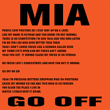 """M.I.A. Shares Lyrics For New, Skrillex-Produced Track, """"Go Off ... Best 25 Figure It Out Lyrics Ideas On Pinterest Abstract Lines Little Jimmy Dickens Out Behind The Barn Youtube Allens Archive Of Early And Old Country Music January 2014 Bruce Springsteen Bootlegs The Ties That Bind Jems 1979 More Mas Que Nada Merle Haggard Joni Mitchell Fear A Female Genius Ringer 9 To 5 Our 62017 Season Barn Theatre Sugarland Wedding Wisconsin Tiffany Kevin Are Married 1346 May Bird Of Paradise Fly Up Your Nose Lyrics Their First Dance Initials Date Scout Books Very Ientional Lyric Book Accidentals"""
