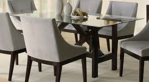 Design Ideas Rectangular Brown Glass Tables