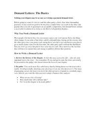Demand Letter Template Demand For Payment Letter Template Payment