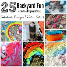 Summer Camp At Home 25 Fun Backyard Kids Activities