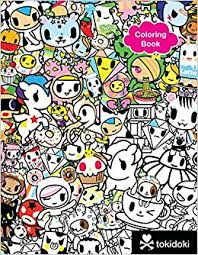 Tokidoki Coloring Book 9781454921813 Amazon Books