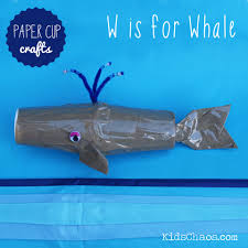 Paper Cups Crafts Kids Chaos Whale