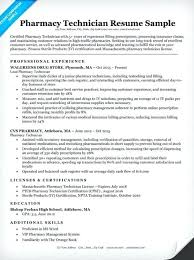 Pharmacy Technician Resume Example Unique Sterile Processing Of