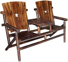 Texas Double Bench And Tray With The Texas Lone Star ... 0 All Seasons Equipment Heavy Duty Metal Rocking Chair W The Top Outdoor Patio Fniture Brands Cane Back Womans Hat Victorian Bedroom Remi Mexican Spalted Oak Taracea Leigh Country With Texas Longhorn Medallion Classic Porch Rocker Ladderback White Solid Wood Antique Rocking Chair Wood Rustic Pagadget Worlds Largest Cedar Star Of Black