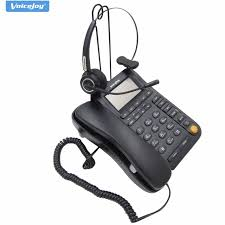 Professional fice call center business headphone RJ9 office