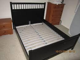 Ikea Hemnes Bed Frame Instructions by Bedding Exquisite Hemnes Bed Frame Ikea Queen Gnaschejpeg Hemnes