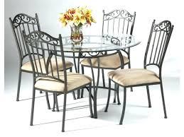 Dining Room Table And Chairs For Sale Black Wrought Iron Chair Sets Round