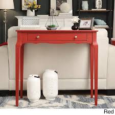 Walmart Larkin Sofa Table by Inspire Q Daniella 1 Drawer Wood Accent Console Sofa Table