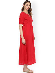 red dress buy red dresses online in india myntra