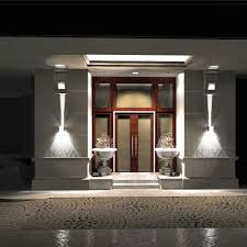 up lighting wall light with cree outdoor led sconces