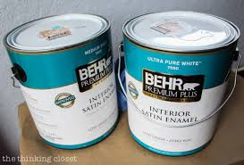 Tip 1 For Painting Furniture With Latex Paint Use The Right Supplies To Get