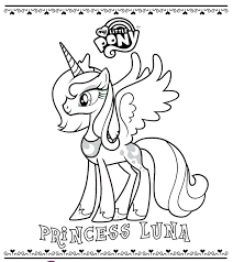 My Little Pony Filly Coloring Pages