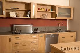 meuble de cuisine bois massif collection estives cuisines contemporaines en bois massif huilé