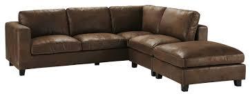 canapé cuir vieilli les plus beaux canapés en cuir femme actuelle