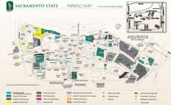 California State University At Sacramento Map City College 600 X 389 Pixels