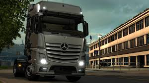100 Euro Truck Simulator 2 Reworked Mercedes Actros MP4 Sound ETS Mods Truck