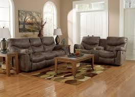 Claremore Antique Sofa And Loveseat by Alzena Double Reclining Loveseat With Console From Ashley 7140094