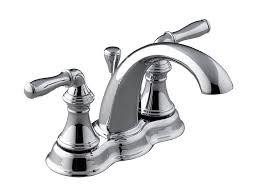 Polished Brass Bathroom Faucet Kohler by Kohler K 393 N4 Sn Devonshire Centerset Bathroom Sink Faucet