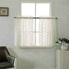 dreamskull kurzstores gardinen vorhänge vorhang schals kleinfenster kurz landausstil vintage transparent scheibengardinen gardinenschals bistrogardine