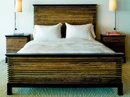 reclaimed wood platform bed frame home design ideas