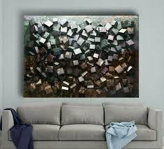 leinwand bild 145x100x5 würfel 3d wandbild modern