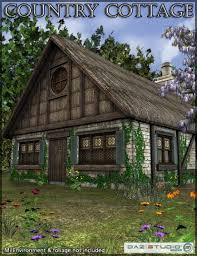 Images Cottages Country by Country Cottage 3d Models And 3d Software By Daz 3d