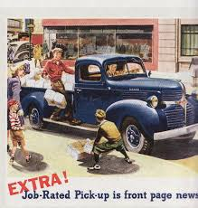 Vintage Pickup Truck Ads | Carla-at-home Rollin With The Good Times In A 1946 Dodge Pickup By Roadtripdog Most Luxurious Ram Pickup Ever Introduced As Tungsten Edition Index Of Picsmore Pics1995 4x4 For Sale On Classiccarscom Seven Things You Need To Know About 2019 1500 Automobile Truck 3 Deviantart 1945 Halfton Classic Car Photography 2014 Sale 2071021 Hemmings Motor News Chris Forsberg Stacks 46 Hankook Tires His Tanner Likes This One Because Its Orange Trucks Tastefully Done Hot Rod Chevy