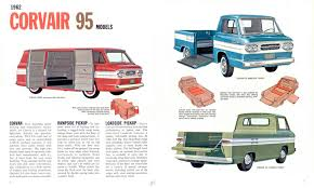 1962 Chevrolet Corvair Truck Brochure 1961 Chevrolet Corvair Corphibian Amphibious Vehicle Concept 1962 Classics For Sale On Autotrader 63 Chevy Corvair Van Youtube Chevrolet Corvair Rampside Curbside Classic 95 Rampside It Seemed Pickup Truck Rear Mounted Air Cooled Corvantics 1964 Chevy Pickup Pinterest Custom Sideload Pickup Pickups And Trucks Pickup Cars Car