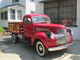 Auctions - 1946 Chevrolet Stake Body Truck | Owls Head ... 1946 Chevy 3105 12 Ton Panel Delivery Truck Picture Car Locator Tkzautomotive One Trucks Pinterest Classic Dually Gmc Coe Coe Tow Chevrolet Art Deco V8 Hotrod Truck Project Pickup Rust Free Body Off Complete Restoration Bobber The Hamb Stylemaster Wikipedia Chevy For Sale Pick Up 5 Aos De Image Result Pickup Carstrucks 12ton 1936 Master Deluxe Sport