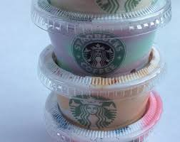 Starbucks Inspired Frappuccino Slime Bundle Set Of 4