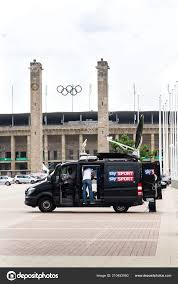100 Production Truck Berlin Germany May 2018 Sky Sports Television