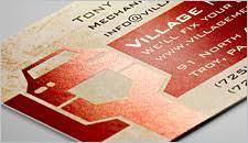 Metallic Finish Business Cards