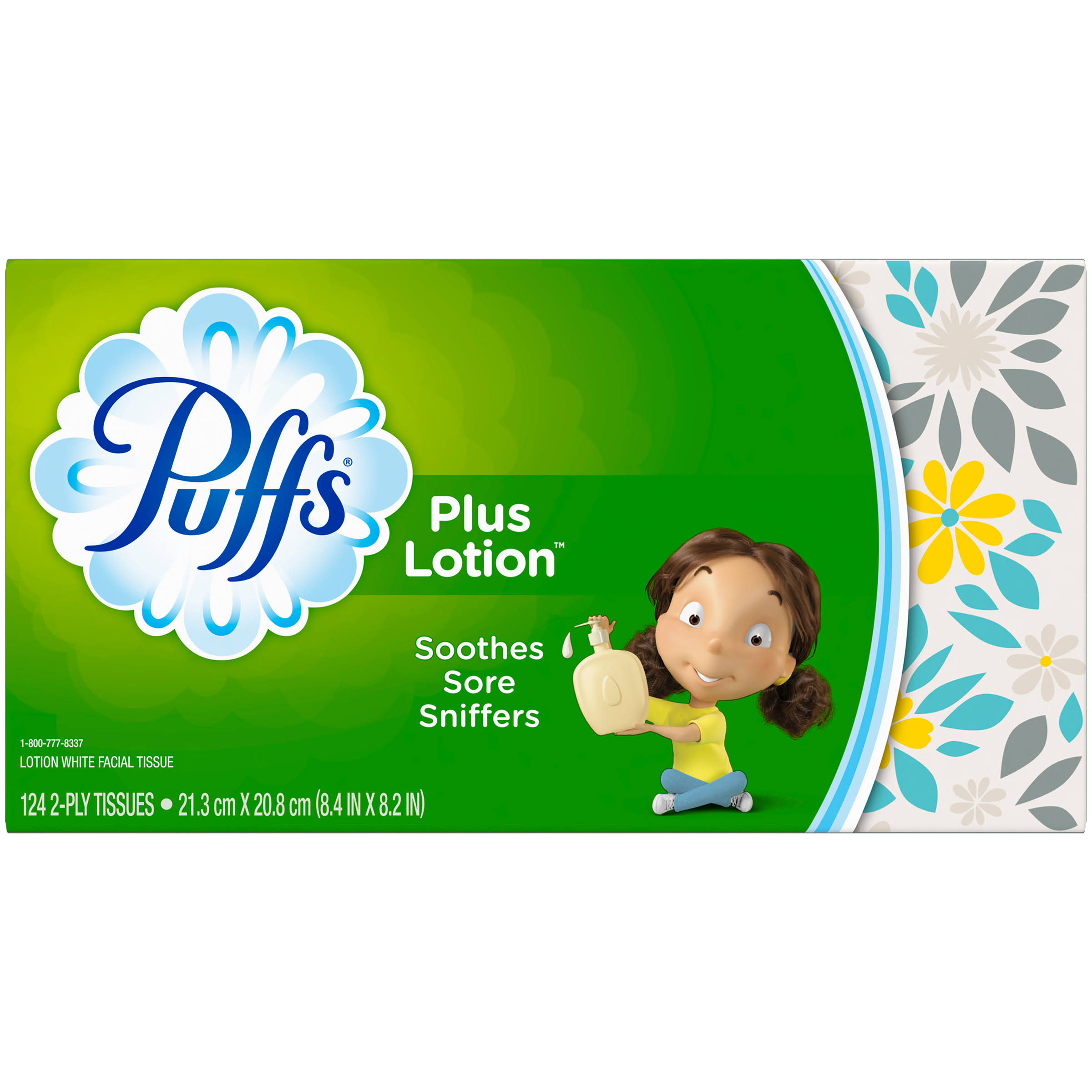 Puffs Plus Lotion Facial Tissues - 120 Count