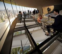 Seattle Space Needle The Restaurants Dining Experience Includes Open Glass Floors
