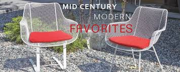 Lovely Mid Century Modern Patio Furniture With Patioliving