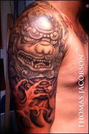 Foo Dog Tattoo 25