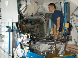 Simply Maintaining Muscle Mass In Space Said Trappe Requires A High Weight Low Repetition Workout The ARED Is First Piece Of NASA Exercise Equipment