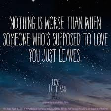 Quote from LOVE LETTERS TO THE DEAD by Ava Dellaira