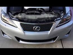 easy lexus oem replacement grill custom upgrade dyi on a 2011