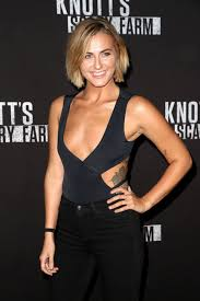 Scout Taylor Compton Halloween by Scout Taylor Compton Stills At Knott U0027s Scary Farm Celebrity Night