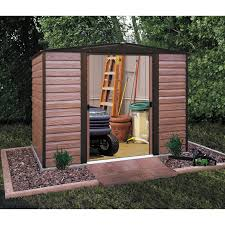 Arrow 10x12 Shed Assembly by Arrow Shed Woodridge 8 X 6 Ft Steel Storage Shed Hayneedle