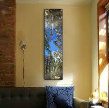 Winsome Vertical Wall Art Plus Designs Aspen Trees Looking Up Stylized Home Decor Ideas Uk Australia