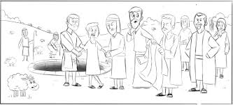 Joseph Bible Story Coloring Pages Printable
