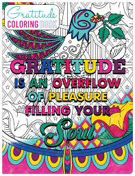 Coloring Pages With Gratitude Quotes