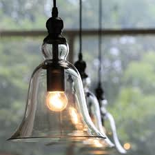 Vintage Industrial Pendant Light Ceiling Lamp Glass Shade Fixture New