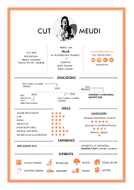 CV By Cut Meudi An Architecture Student From University Of Indonesia Jakarta