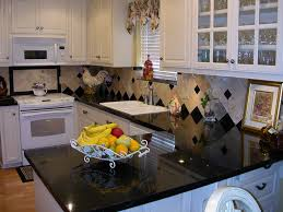 Black Galaxy Granite Kitchen Countertop Island Installed Finished Granix 3