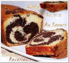 recette dessert avec yaourt cake au yaourt marbré